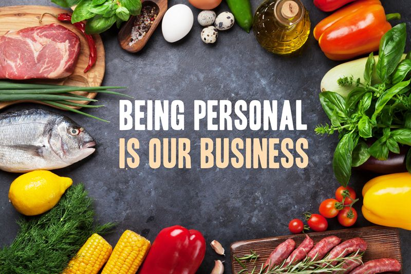 Being personal is our business